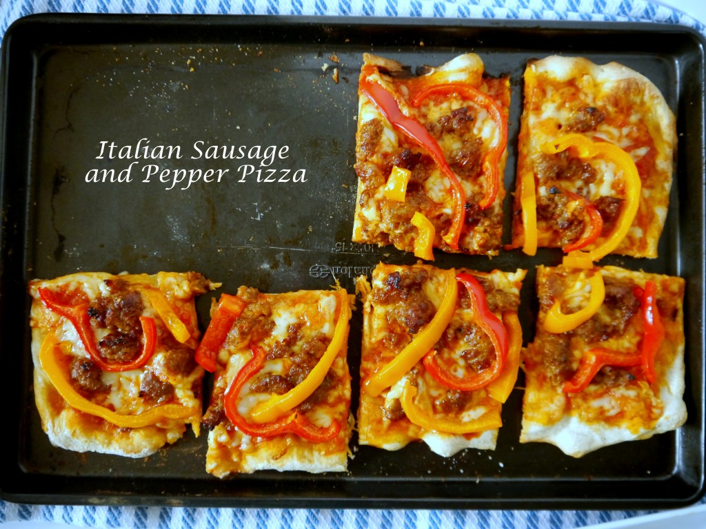 Italian Sausage and Pepper Pizza 10 | My Bacon-Wrapped Life