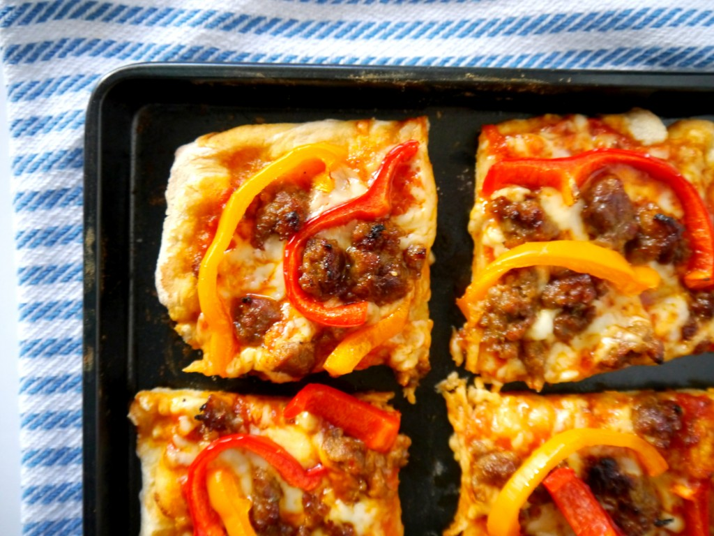 Italian Sausage and Pepper Pizza 8 | My Bacon-Wrapped Life