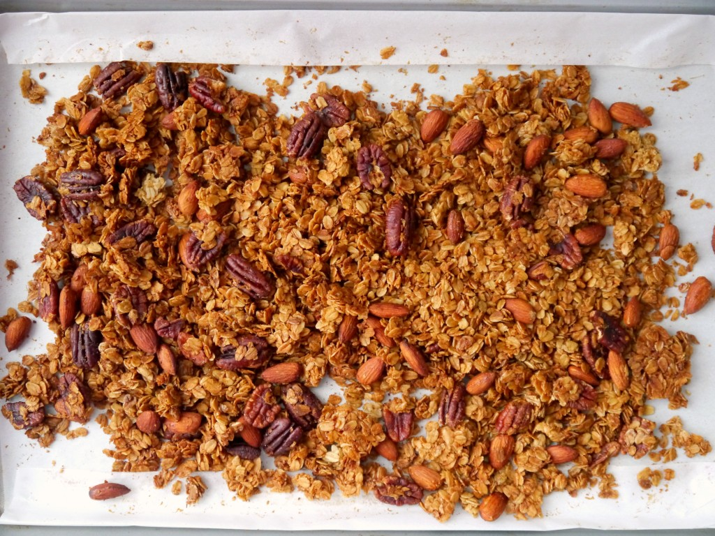 Browned Butter Bourbon Granola 2   My Bacon-Wrapped Life