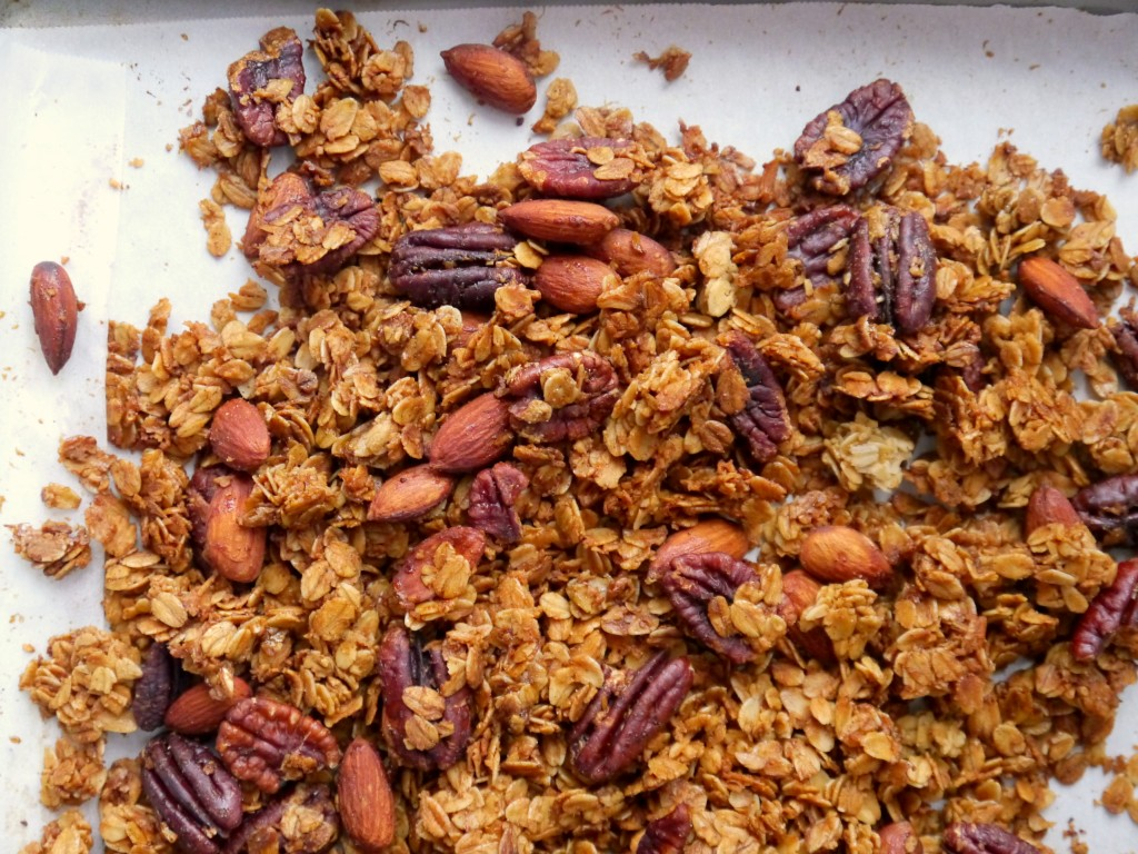 Browned Butter Bourbon Granola 3   My Bacon-Wrapped Life