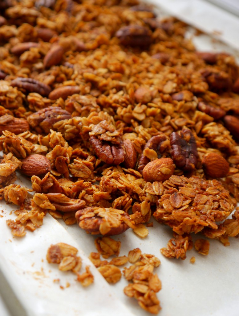 Browned Butter Bourbon Granola - My Bacon-Wrapped Life
