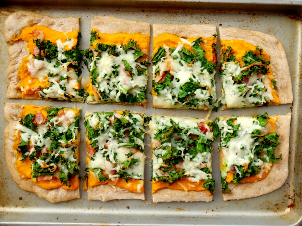 Butternut Squash and Bacon Pizza | My Bacon-Wrapped Life