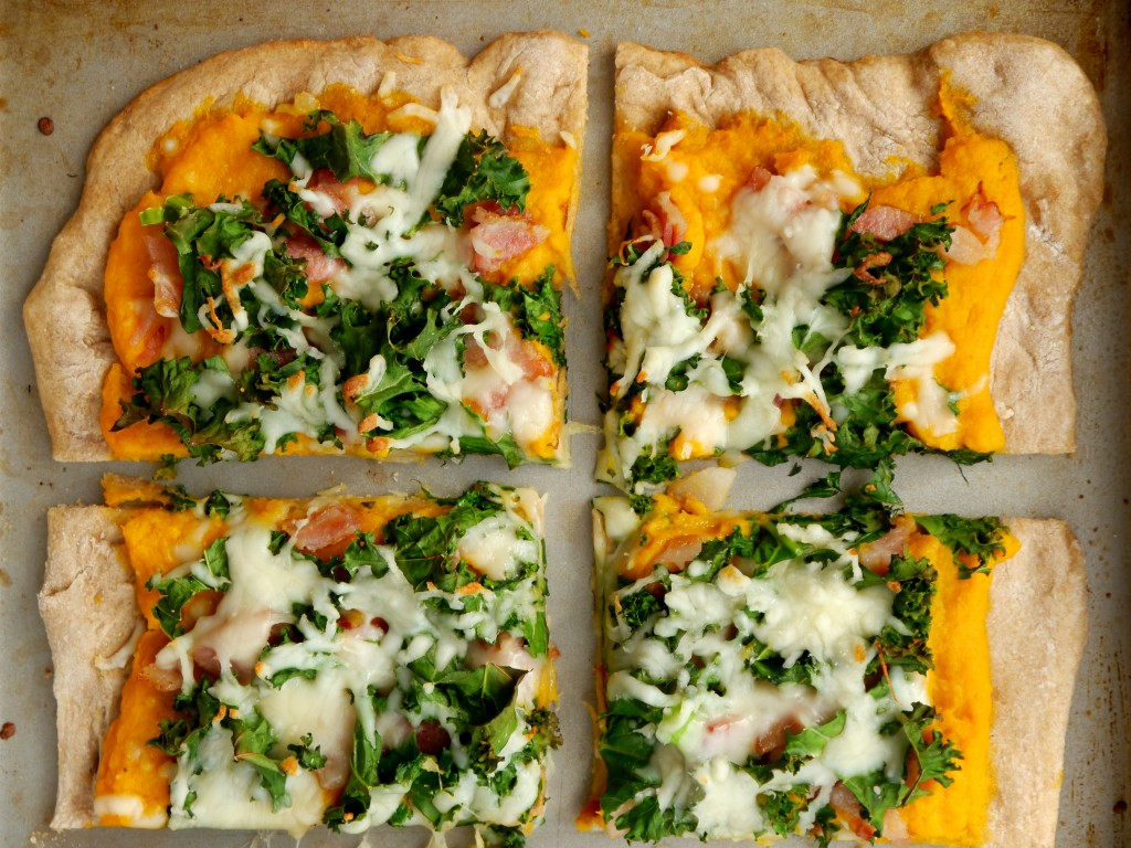 Butternut Squash and Bacon Pizza 3 | My Bacon-Wrapped Life