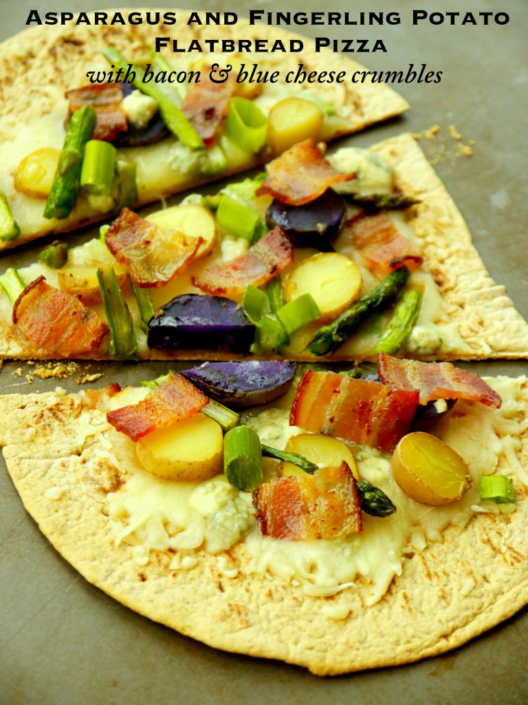 Asparagus and Fingerling Potato Flatbread Pizza with Bacon ...