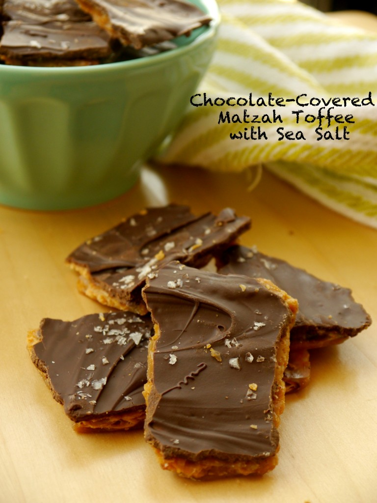 Chocolate Covered Matzah Toffee With Sea Salt My Bacon