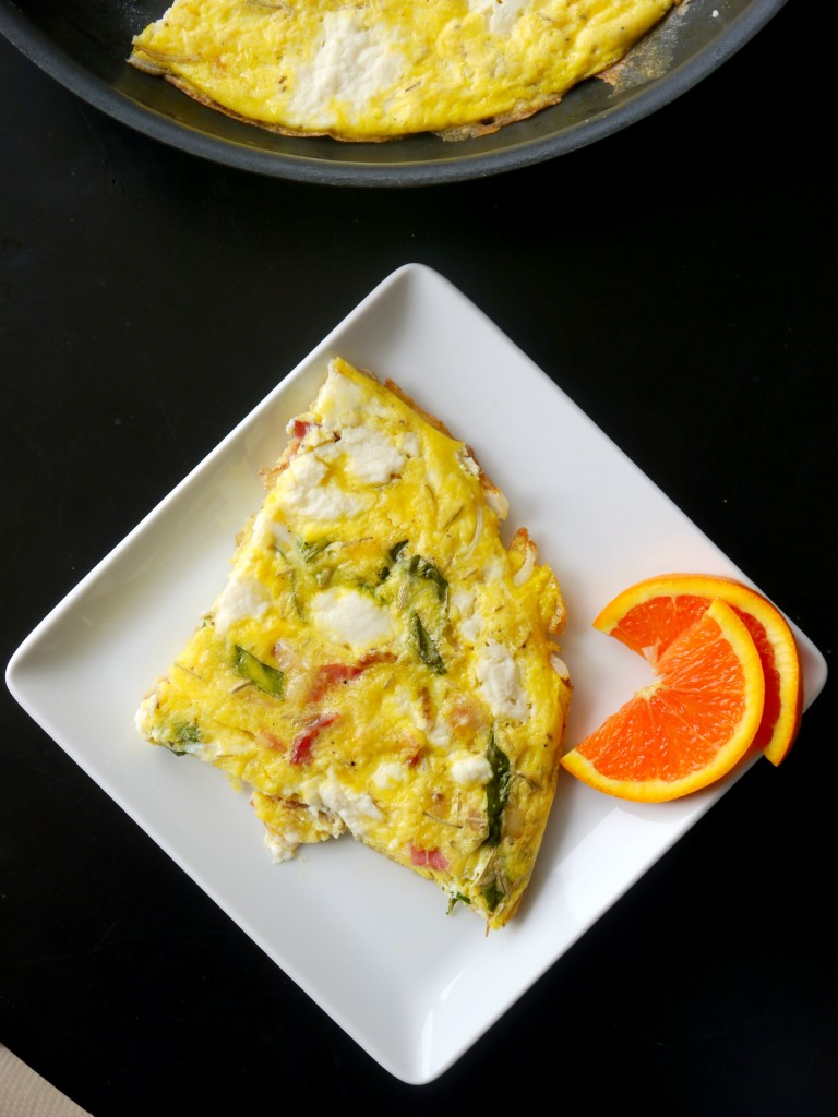 Bacon, Onion, and Ricotta Frittata 5 | www.mybaconwrappedlife.com