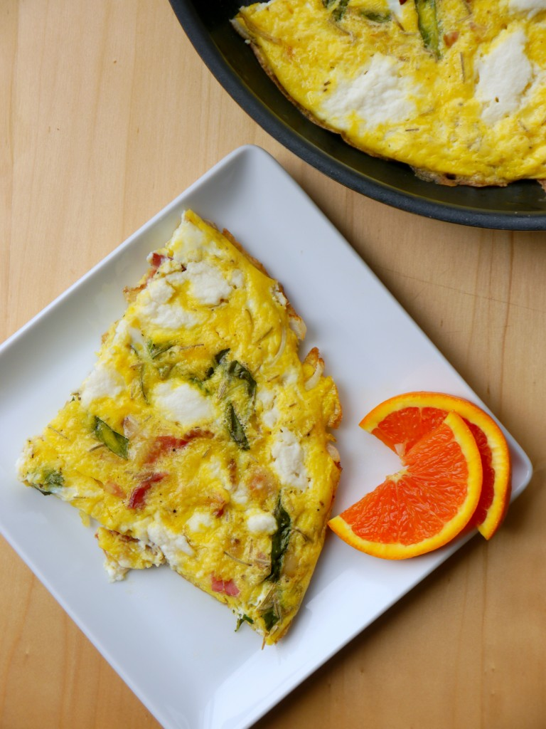 Bacon, Onion, and Ricotta Frittata 3 | www.mybaconwrappedlife.com