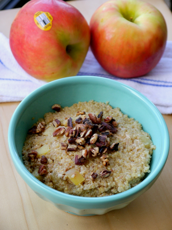 Baked Apple Cinnamon Breakfast Quinoa - My Bacon-Wrapped Life