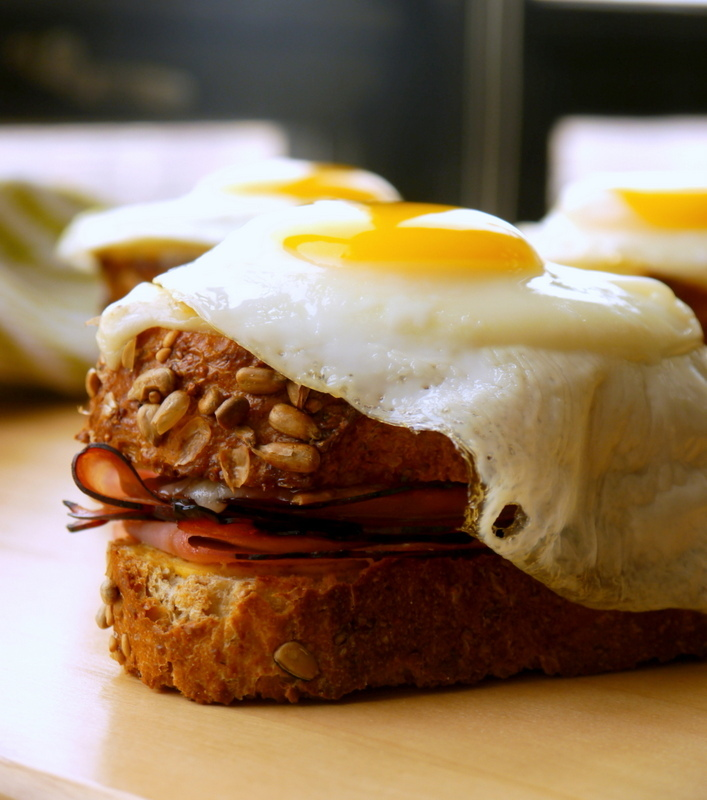(the best) croque madame // my bacon-wrapped life