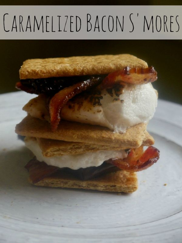 ... caramelized bacon s'mores ALL YEAR LONG. Long live the bacon s