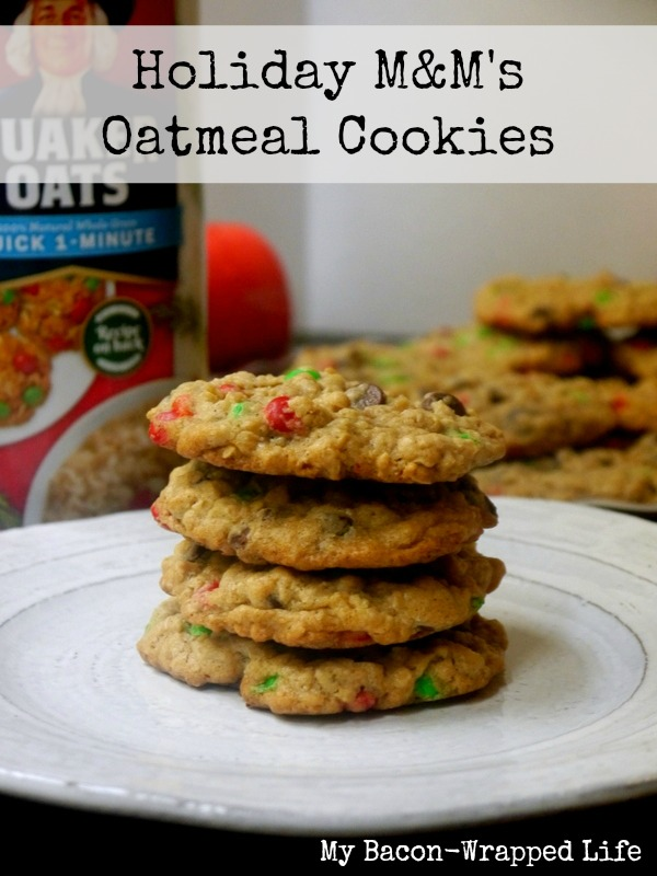 Holiday M M S Oatmeal Cookies