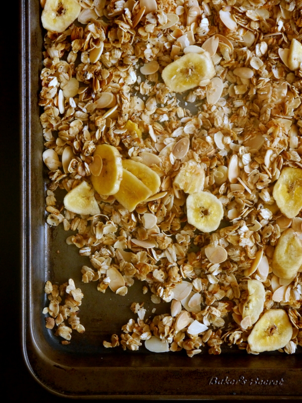 tropical toasted coconut stovetop granola // my bacon-wrapped life